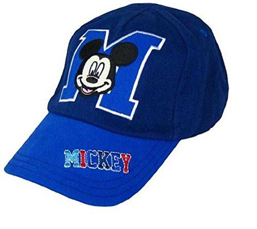 Disney Mickey Mouse Baby Sonnenmütze, Baseballkappe, Sonnenhut, für Jungen ab 0–6Monate bis 2–4Jahren, blau