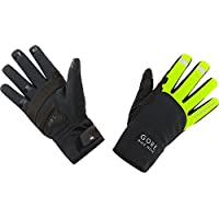 GORE BIKE WEAR Unisex Thermal Cycling Gloves, GORE WINDSTOPPER, UNIVERSAL Thermo Gloves, Size: 8, Neon Yellow/Black, GWUNIT