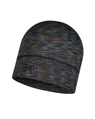 Buff Lightweight Merino Wool Hat, Fossil Multi Stripes, One Size -