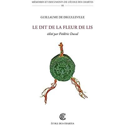Le Dit De La Fleur De Lis Pdf Download Neojoseph