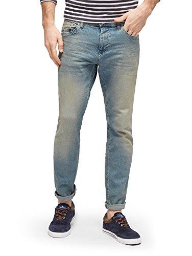 TOM TAILOR für Männer Jeanshosen Josh Regular Slim Jeans vintage stone wash denim 32/34 (Jeans Klassische Vintage)