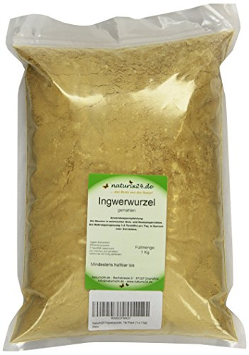 Naturix24 Ingwerpulver, 1er Pack (1 x 1 kg) 2