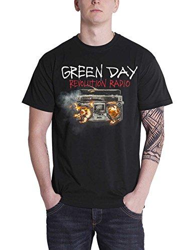 Green Day T Shirt Revolution Radio Album Cover band logo offiziell Herren Green Day-logo-beanie