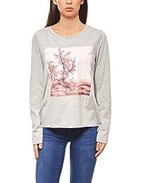 26798db5332444 Aniston Shirt edles Damen T-Shirt mit Glanzoptik Kurzarm Silber · EUR 19