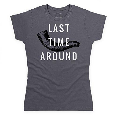 Official The Dark Tower Horn of Eld T-Shirt, Damen Anthrazit