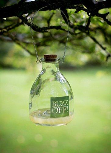 *CKB Ltd® Wasp Catcher Trap Wespenfänger Wespenfalle Glas Glasflasche – Traditionelles Attraktives Design Insektenfalle Trap Garten Schädlingsbekämpfung*