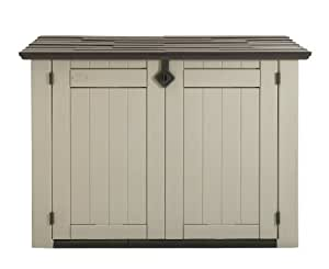 Keter Store It Out XL Outdoor Plastic Garden Storage Shed - Beige/Brown, 160 x 90 x 119 cm