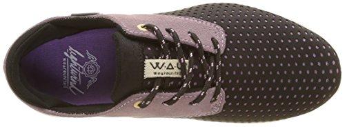 WAU Lightwind, Baskets Basses Femme Violet (Violet)