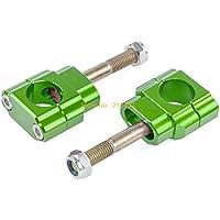 BEESCLOVER - Abrazaderas para Manillar de Honda Kawasaki 125 250 450 CR/CRF/KX