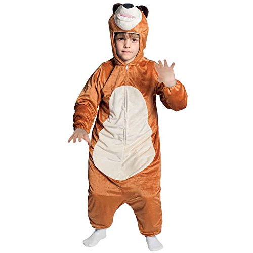 Joker costume bambino masha e orso - orso 3/5 anni