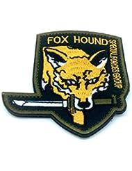 Foxhound spécial force Groupe Jaune brodé Patch Airsoft