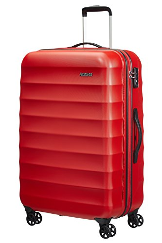 American Tourister Palm Valley Spinner 77/28, Valigia, Litri 88.7, Bright Red