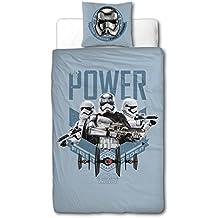 sahinler/Star Wars Lucas película Disney 22010033funda de edredón 140x 200+ almohada Funda de almohada 63x 63algodón azul