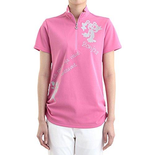 Two And One Damen Wear L Kurzarm Shirt Pink L Größe Golf Wear Damen Weste Damen Komplettsets Golf-Club Komplettsets