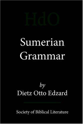 Sumerian Grammar (Handbook of Oriental Studies. Section One, the Near [And] Mi) by Dietz Otto Edzard (2003-01-01)