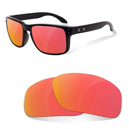 sunglasses restorer easyfit Ersatzgläser für Oakley Holbrook, Polarisierte Ruby