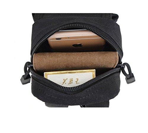 Außen Militärtarnung Taschengeldbeutel Telefonpaket Läuft Tasche Tasche Taktik armygreen