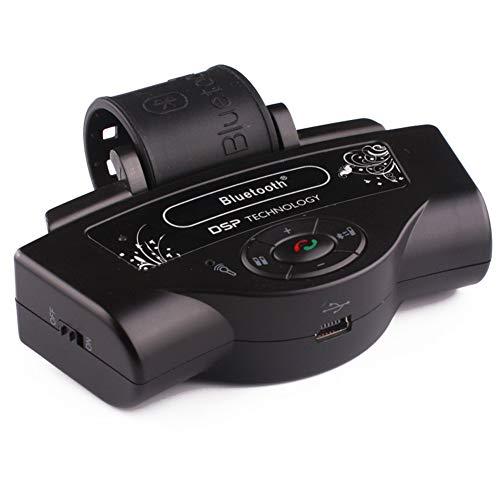 Auto Bluetooth Transmisor FM para coche Radio Adaptador de audio Reproductor de...