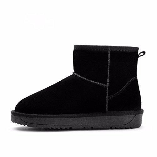 FLYRCX Il Winter Snow Boots lady con impermeabile antiscivolo per calzature cashmere termica dimensione europea: 34-44 G
