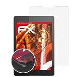 atFolix Schutzfolie passend für Google Nexus 9 Folie, entspiegelnde & Flexible FX Bildschirmschutzfolie (2X)