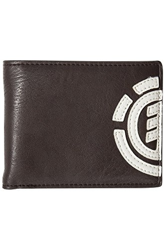 Element Uomo Daily Wallet Portafoglio, 1 x 7 x 9 cm, Marrone (Braun (Brown Bear)), Uni