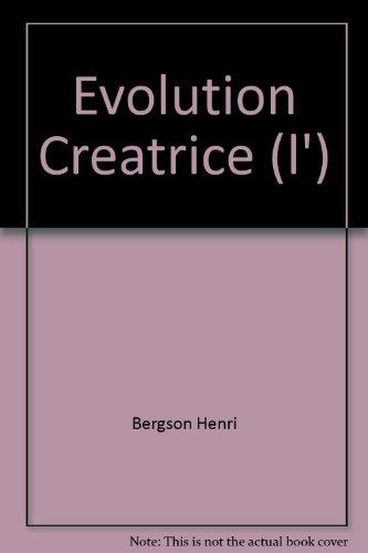 L'Evolution Creatrice