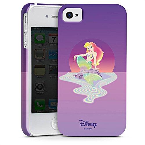 Apple iPhone X Silikon Hülle Case Schutzhülle Disney Arielle die Meerjungfrau Geschenke Merchandise Premium Case glänzend