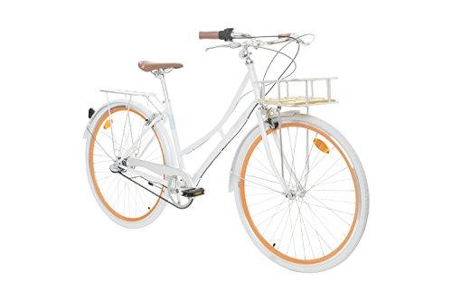 Fabric City - Vélo de Ville 28' avec Panier, Interne 3 Vitesses Shimano, Femme Hollandais City...