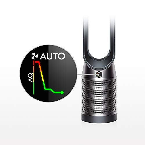 Dyson Pure Cool Air Purifier (Advanced Technology), Wi-fi & Bluetooth Enabled, Tower TP04 (Black/Nickel)
