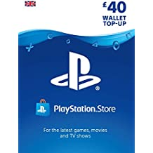 PlayStation PSN Card 40 GBP Wallet Top Up | PSN Download Code - UK account