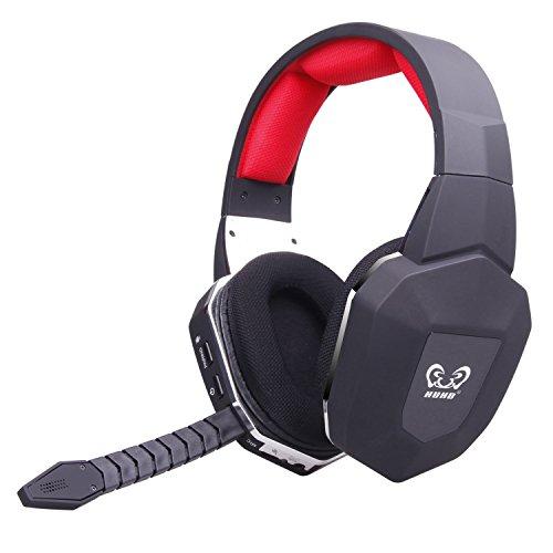 EasySMX 2.4GHz Wireless Gaming Headset für Xbox 360/Xbox ONE/PS3/PS4 mit abnehmbarem Mikrofon USB2.0 Akku (einem Microsoft-Adapter oder Kinect ist für die Verwendung mit XBOX brauchte) thumbnail