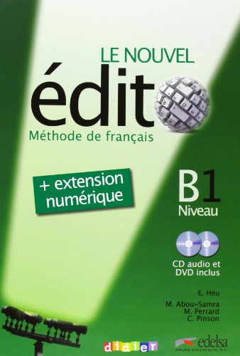 Nouvel Edito B1 (+cd)