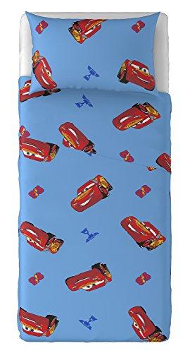 T & F 8050538312696Juego Sábanas Disney Cars, 100% algodón,, Individual, 280x 150x 0.5cm