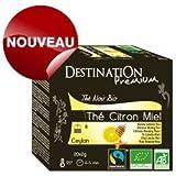 Thé Noir Citron Miel Ceylan Bio Equitable - 20x2g