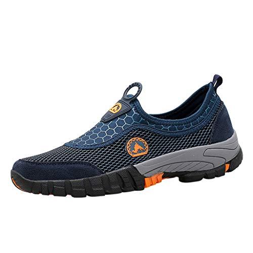 (Clearance Sale [EU36-EU49] ODRD Schuhe Herren Männer Sommer-beiläufige Männer Wasserschuhe Pool Beach Swim Drawstring Creek Tauchschuhe Combat Worker Laufschuhe Wanderschuhe Sneakers Sport)