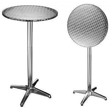 bistrotisch h he 75 o 110cm alutisch alu tisch bartisch. Black Bedroom Furniture Sets. Home Design Ideas