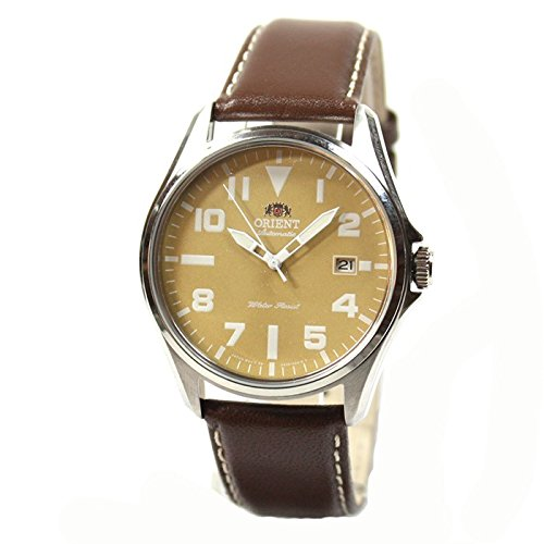 Orient Classic Automatic Brown Date Leather Mens Watch FER2D00AN0