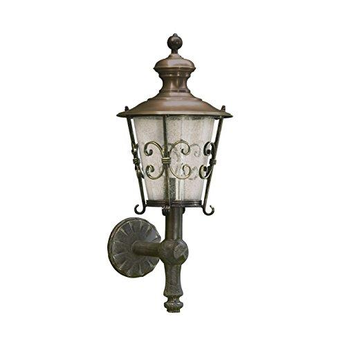 Sogno antica da parete per esterni da giardino lanterna ferro battuto tectum - Lanterne da esterno in ferro battuto ...
