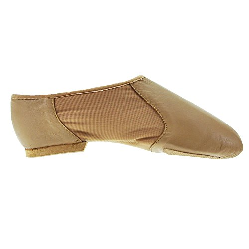 Bloch 495 slittamento Neoflex On Jazz Shoe - Vari colori Abbronzatura