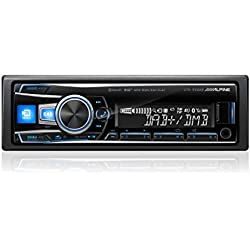 Alpine UTE-93DAB Autoradio, 200W, Bluetooth, UKW, LW, MW, UKW-Band: 87,5bis108MHz, Langwelle: 153–281kHz, LCD-Anzeige.