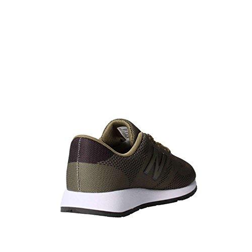 New Balance 420, Baskets Mixte Enfant Vert (Green/black)