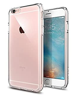 Spigen Schutzhülle iPhone 6 / 6S Hülle ULTRA HYBRID [doppelte Schutzschicht] Extrem hoher Fallschutz - Crystal Clear [Crystal Clear - SGP10954] (B00JH88D1O) | Amazon price tracker / tracking, Amazon price history charts, Amazon price watches, Amazon price drop alerts