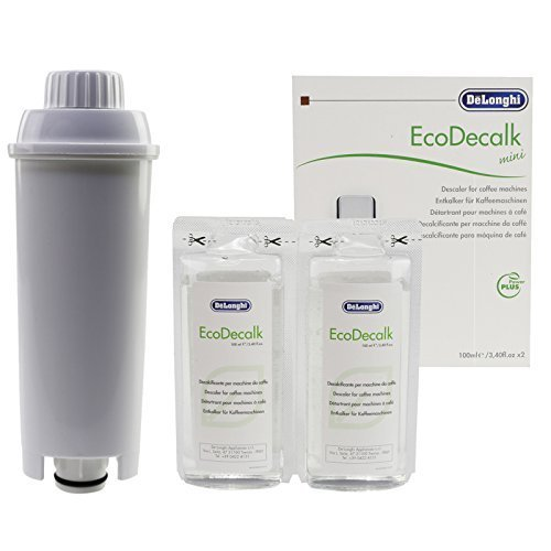 Delonghi Eco Kein Kalk Espresso Kaffeemaschine Natürlich Entkalker & Wasserfilter 200ml