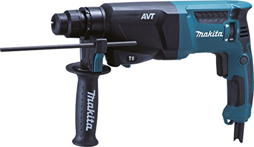 Makita HR2601J Bohrhammer für SDS-PLUS, 26 mm, 800 Watt, im Makpac