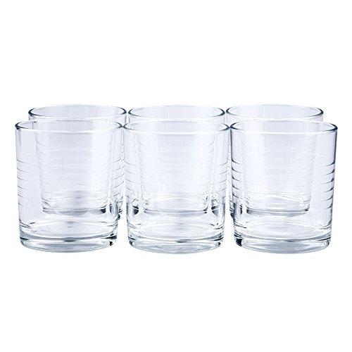 24 x Trinkglas/Saftglas / Wasserglas/Limoglas / Universalglas | Inhalt 240 ml