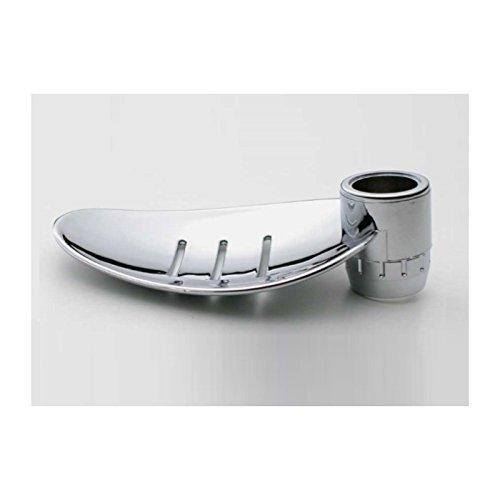 porte-savon-chrome-en-forme-de-feuille-pour-barre-de-douche-diametre-25mm
