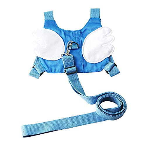 Wrist Leash Wrist Link Children/'s Safety for Children of 0-5 Years Blue/&Red Baby Anti-Loss Belt 2 in 1 Kids Walking Safety Harness Strap and Hand Belt Safety Harnesses
