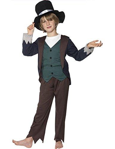 Victorian Poor Boy Costume, (Dodger Artful Oliver Kostüm Twist)