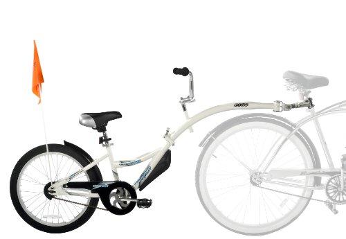 WeeRide 86455 Bicicleta Remolque Copilot, Niños, Blanco, M