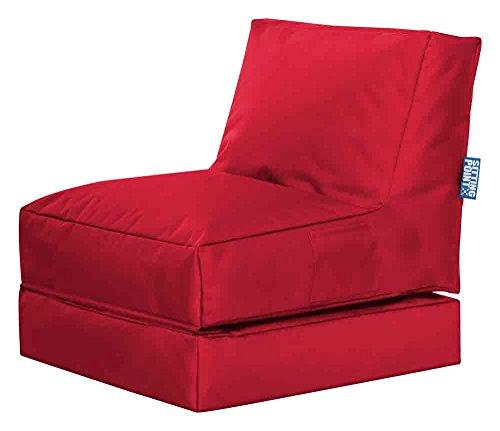 lifestyle4living Sitzsack, Sitzkissen, Bodenkissen, Relaxkissen, Relaxsack, Bodensessel, Sitting...